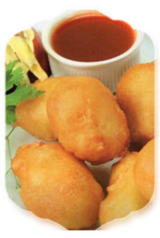 21F. Sweet & Sour Chicken Balls (8)