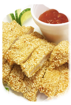 L4. Sesame Crispy Aromatic Chicken Dishes (Large)